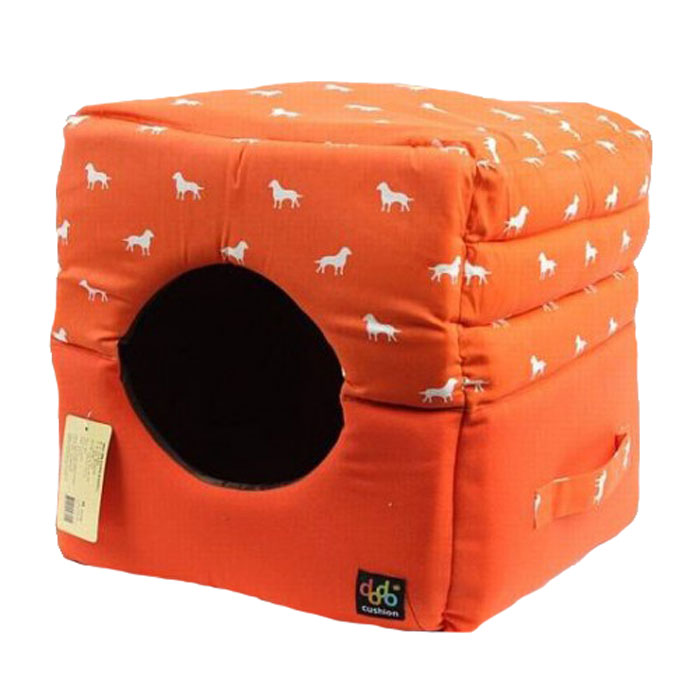 ANYPET orange dome cushion
